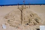 Famous Sand Sculptures in Ocean City Maryland